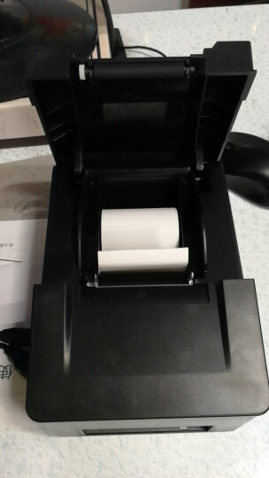 得力(deli)DL-220D 小票针式打印机  微型针式打印机 晒单图