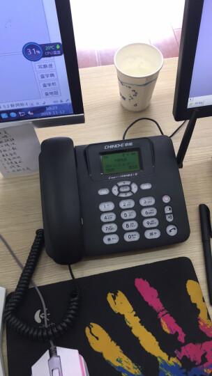 中诺 C265电信版 CDMA插卡电话机移动固话移动座机无线电话插卡座机办公家用固话无线座机电信无绳会议 黑色 晒单图