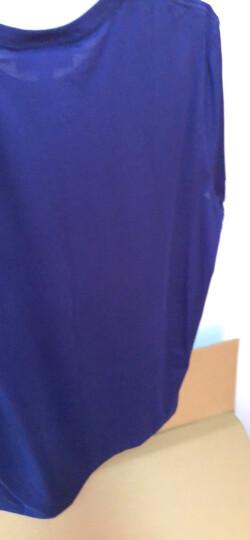 BURBERRY 巴宝莉男装 男士时尚柔棉质T恤衫 黑色 39650661 L 晒单图