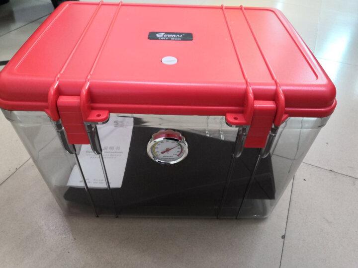 锐玛(EIRMAI) R20 单反相机防潮箱 镜头收纳箱 相机干燥箱 大号,送大号吸湿卡 炫红色 晒单图