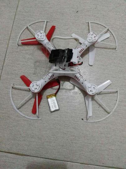 活石 新型防水四轴飞行器遥控飞机 大型无人机充电耐摔遥控飞机男孩玩具 防水版-中国红 双电池套餐 晒单图