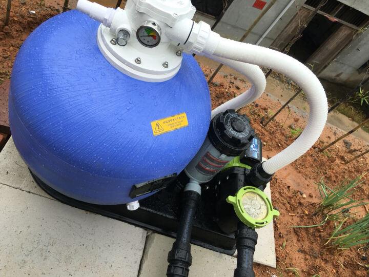 Piscine 碧池砂缸水泵连体机/一体化过滤砂缸/沙缸过滤器/一体化吸污机/过滤一体机 工程定制(咨询客服) 晒单图