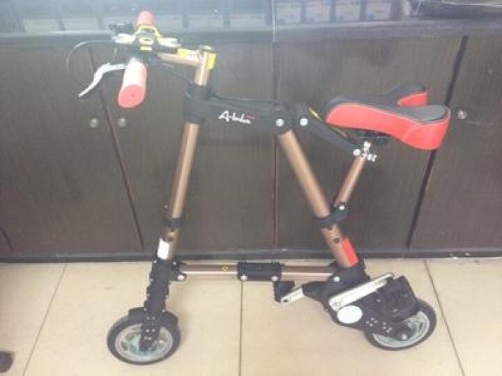 折悦 (A-BIKE)折叠自行车8寸8秒折叠铝镁合金男女通用支持货到付款 GT 晒单图