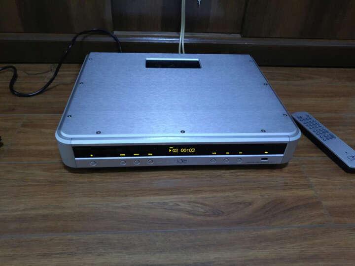 山灵CD1.2全新发烧CD机HIFI胆CD机电子管转盘USB解码声卡 现货 银色 标准版 晒单图