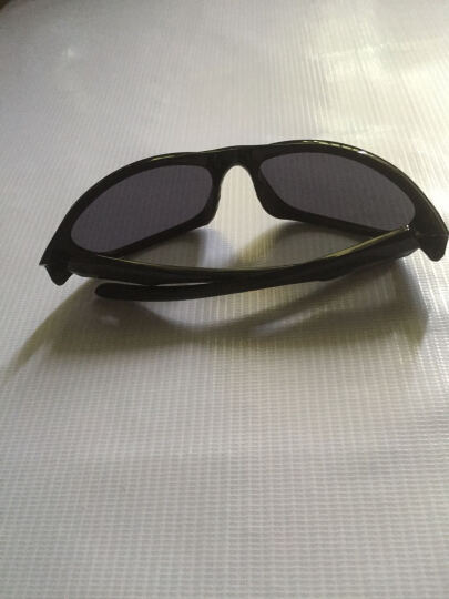 台湾VAUN 维恩 骑行眼镜偏光 铁人三项眼镜 山地防风眼镜 钓鱼开车 跑步运动眼镜 黑色全框偏光 晒单图