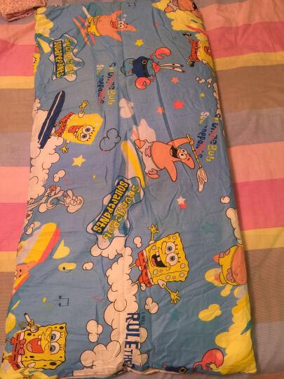 卡培拉 全棉婴儿床褥子棉絮垫被褥 幼儿园卡通纯棉床单小床垫 叮当猫 60x120cm(棉花褥+全棉外套+枕头) 晒单图