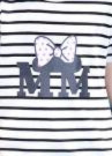 迪士尼(DISNEY)2017秋冬童装 女童T恤 儿童卡通打底衫 宝宝套头上衣 蓝色大唐老鸭 120cm(建议身高120左右) 晒单图