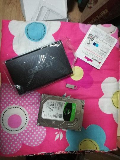 IT-CEO 移动硬盘盒3.5英寸USB3.0 2.5英寸SATA串口笔记本SSD固态硬盘外置盒子 台式机玩客云硬盘底座 F8 晒单图
