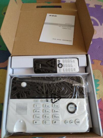 步步高(BBK)无绳电话机 无线座机 子母机 办公家用 旗舰多功能 中文菜单 W202雅典白 晒单图