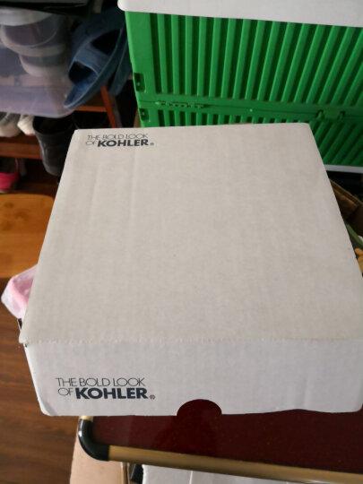 科勒(KOHLER)花洒 翠思单功能手持淋浴花洒 淋浴喷头 浴室配件系列 花洒软管防缠绕11628T(1.5M) 晒单图