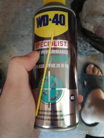 WD-40  快速油污去除剂 发动机清洗剂 金属表面去除顽固污垢清洗剂  450ml 晒单图