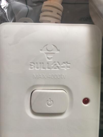 公牛(BULL)GN-H102D 插座/插线板/插排/排插/接线板/拖线板  2位总控全长1.8米大功率16A空调插座 送10A头 晒单图