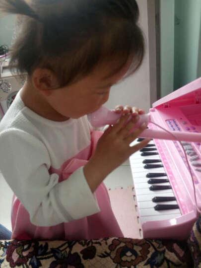贝恩施 儿童架子鼓爵士鼓音乐玩具男女孩早教乐器玩具电子琴可充电带麦克风小凳子 爵士鼓+送充电组+送螺丝刀 晒单图