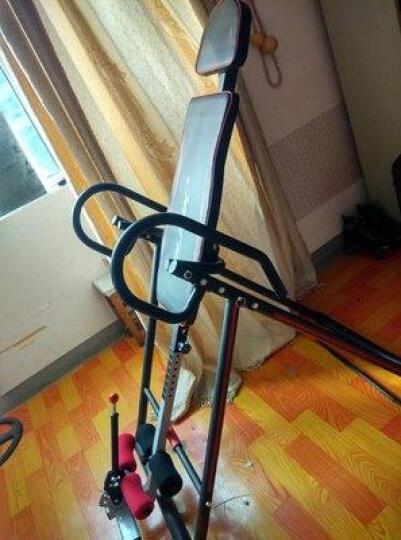 比纳 倒立机家用可折叠 室内倒挂器 颈椎腰椎拉伸器 增高健身器材 升级款-红黑色 晒单图