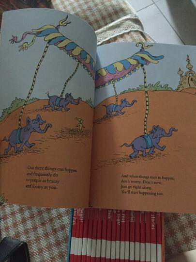 苏斯博士 经典绘本 英文20册套装 Classic Case of Dr Seuss  晒单图
