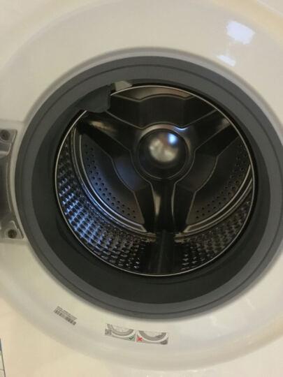三星(SAMSUNG)8公斤全自动滚筒洗衣机 智能变频  快速洗 钻石型内筒 泡泡洗WW80J6413CW(白) 晒单图