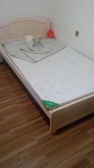 振清家私单人床双人床实木储物收纳床简约现代松木床 清漆180*200 晒单图