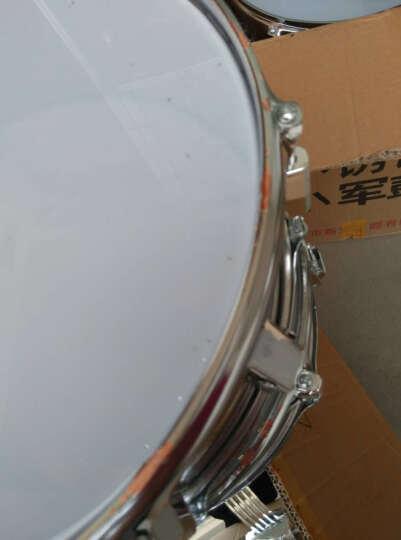 新宝  不锈钢高大军鼓 22英寸 195型 不锈钢色蓝皮22寸(鼓棒+背带+可背可提牛津包) 晒单图
