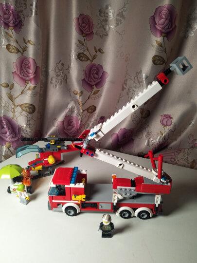 【乐高授权专营店】乐高(LEGO)积木玩具 城市警察系列 60197 客运火车 晒单图
