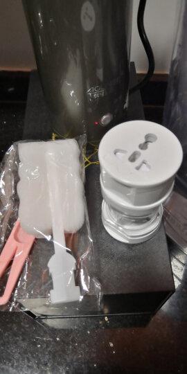 奥林格(AOLINGE)便携式出国出差旅行迷你小容量电热水壶便携电水壶烧水壶开水壶电热水杯折叠小功率 黑色 晒单图