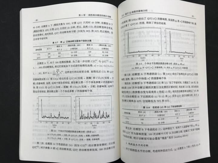 线性和广义线性混合模型及其统计诊断 晒单图