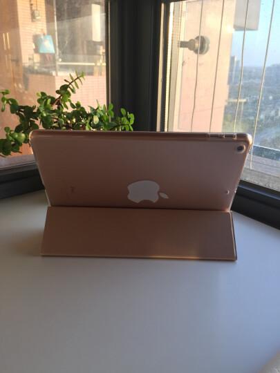 VALK苹果新ipad保护套9.7英寸 2018新款/2017款平板电脑保护壳 三折壳面一体色薄荷绿 晒单图