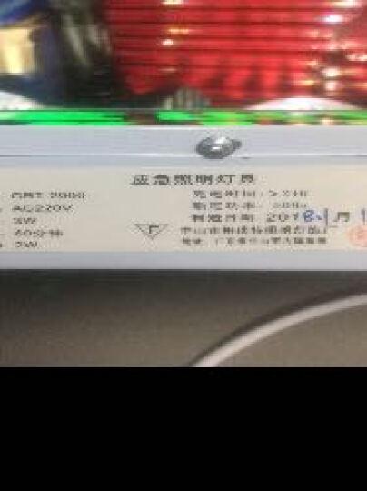 【京东仓发】grea应急灯LED安全出口标志牌指示灯一体式充电应急照明灯疏散标识家用照明灯 老国标两用灯 安全出口 晒单图