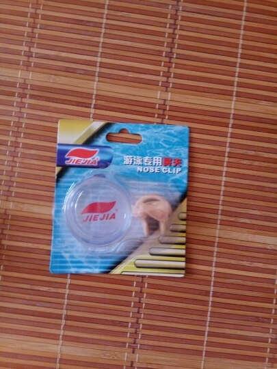 捷佳(JIEJIA) 泳镜游泳镜 电镀套装泳帽大框竞速防雾男女游泳眼镜 电镀白色泳镜套装 晒单图