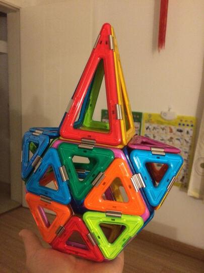 琛达(MAGSPACE)128件彩虹世界套装 第二代磁力片精钢系列百变提拉玩具 早教益智建构拼搭拼插积木 晒单图