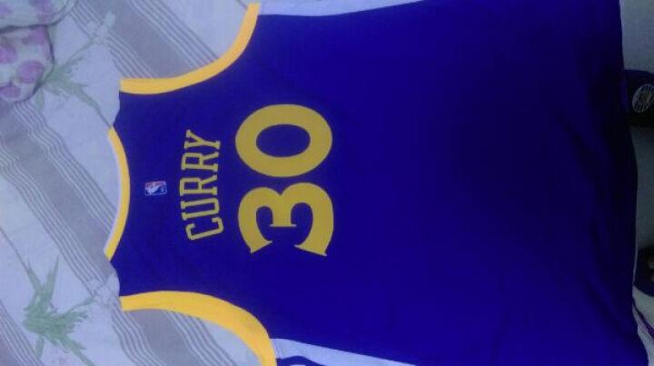 NBA 阿迪达斯 勇士 库里 篮球服 Swingman球衣 ADS0962A 勇士库里 XL 晒单图