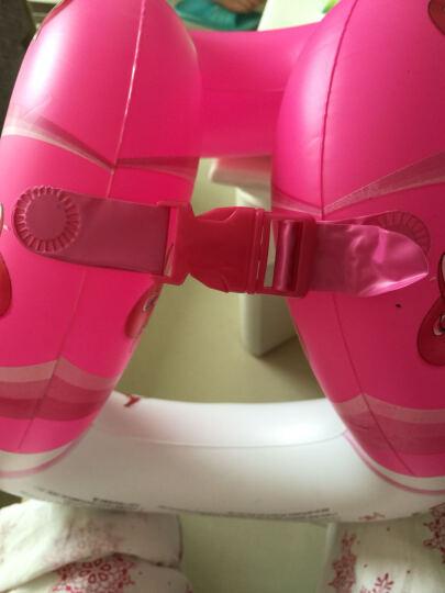 KASITE超弹款儿童/成人泳圈 加厚救生圈 背心式游泳圈 游泳装备 粉色S码 KY-02 晒单图