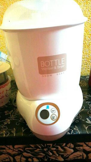 小白熊(Snow Bear)婴儿奶瓶消毒器带烘干 多功能宝宝蒸汽消毒锅HL-0871 晒单图