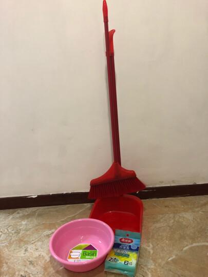 美丽雅海绵百洁布洗碗海绵擦洗碗巾厨房刷碗洗锅清洁海棉百洁布洗碗布波纹凹凸刷面海绵百洁布2枚装 晒单图