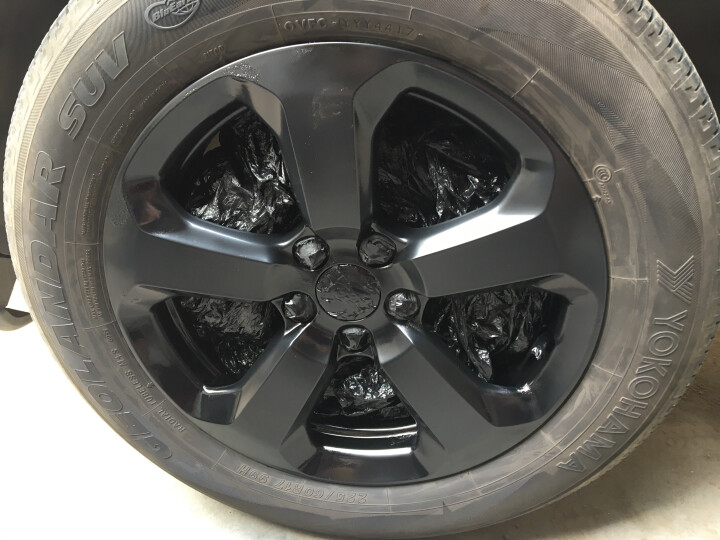 佳卡诺 第二代 汽车轮毂喷膜 可撕喷漆 轮毂改色 车身改色 轮毂自喷漆 改色漆 1瓶 土豪金 晒单图