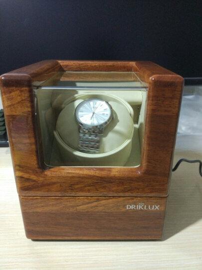 德克力时(Driklux)摇表器自动机械手表盒子上弦上链器表盒晃表器转表器德国进口 蓝色鸵鸟+骆驼色绒 晒单图