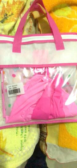 迪士尼 Disney 儿童雨衣 男童女童雨披带书包位加厚卡通小学生雨衣1013 冰雪蓝M 晒单图