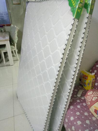 佰安广厦椰棕床垫硬棕垫薄折叠乳胶椰棕复合床垫子可定做榻榻米 B款8厘米3E椰棕水墨灰 1.5米*2米活动抢购价 晒单图