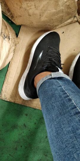 鸿星尔克ERKE 女鞋运动休闲透气防滑运动女慢跑鞋  12117202113 三角梅红 35 晒单图