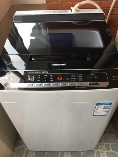 松下(Panasonic)洗衣机全自动波轮7.5公斤 泡沫发生技术 羊毛洗 精洗技术 自由编程 桶洗净XQB75-H77321灰色 晒单图