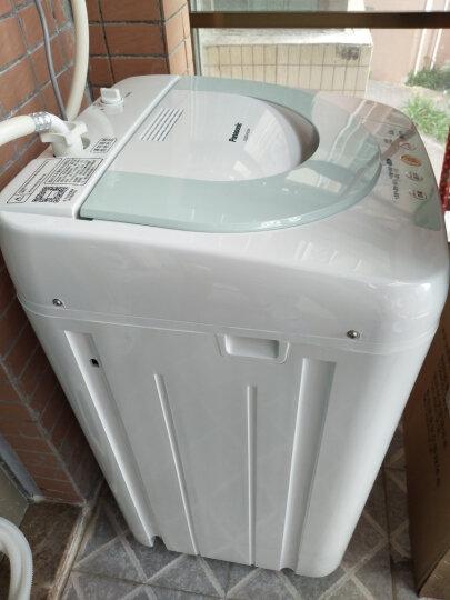 松下(Panasonic)2.8公斤婴幼宝宝迷你儿童波轮洗衣机 不锈钢内筒 省水省电XQB28-P200W白色 晒单图