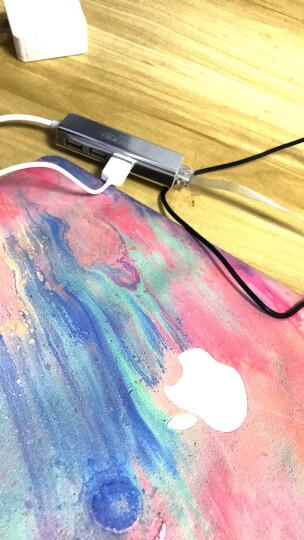 倍晶USB转网线转换器小米笔记本Air13联想苹果华为电脑外接口网卡hub戴尔微软15.6转接头扩展 USB接口百兆2.0普通白 送两根网线+收纳袋 晒单图