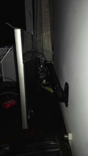 NB F200(30-40英寸)液晶显示器支架多功能壁挂显示屏支架电视架旋转升降伸缩架 黑色 晒单图
