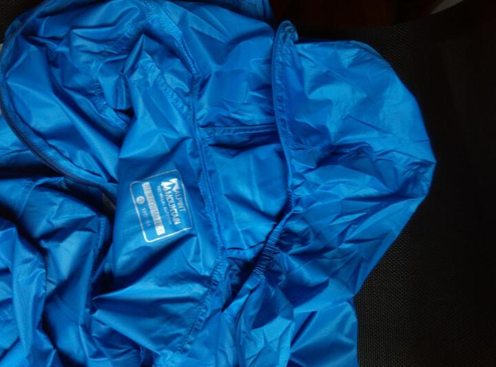 ALPINT MOUNTAIN 埃尔蒙特 户外防晒衣男女UPF40+ 皮肤衣防紫外线风衣透气 男款海蓝 XL 晒单图