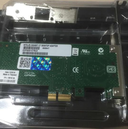 英特尔(Intel) 千兆网卡PRO/1000PTEXPI9402PT双端口服务器网卡82571 晒单图