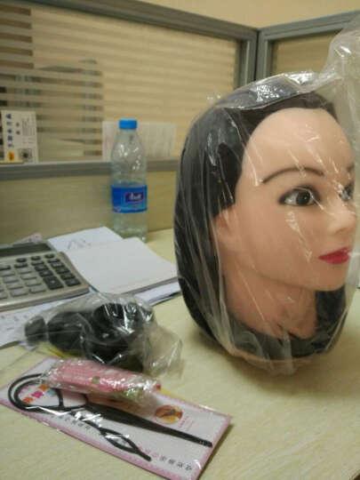 奥丝儿(aosier) 玉米烫假发头模练习盘发化妆教习头编发模具假人头公仔头模型美发头模 米白-YK无妆 晒单图