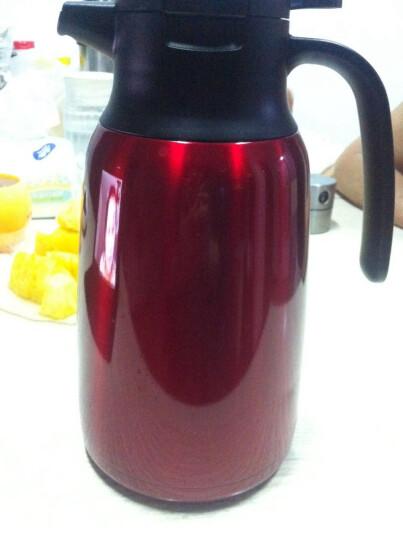 多样屋 304不锈钢真空保温壶家用户外大容量热水瓶 TAYOHYA骑士2代暖水瓶保温水壶 骑士黑 晒单图