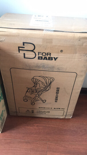 福贝贝(For Baby) 婴儿推车超轻便可坐可躺铝合金儿童伞车折叠便携婴儿车儿童推车可上飞机 T2000不带拉杆蓝色 晒单图