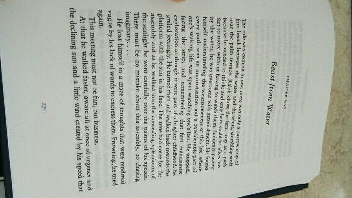 戈尔丁文集:蝇王 晒单图