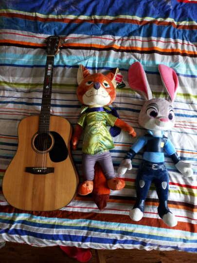 迪士尼 正版疯狂动物城公仔狐狸尼克兔子朱迪毛绒