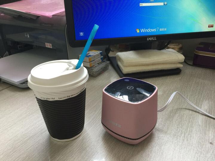 托瓦(TAMO) 新款 台式笔记本 迷你小音响 一体手机 音箱低音 炮办公室USB电脑影响 玖瑰金 晒单图